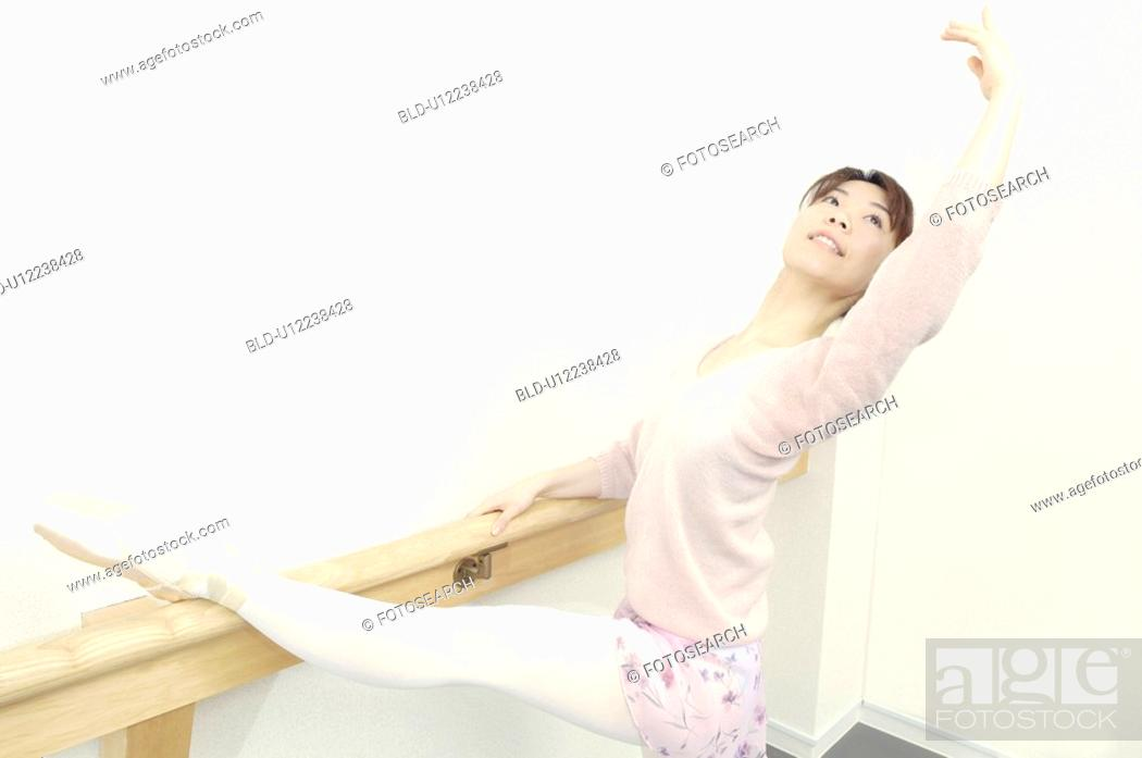 Stock Photo: Ballerina.