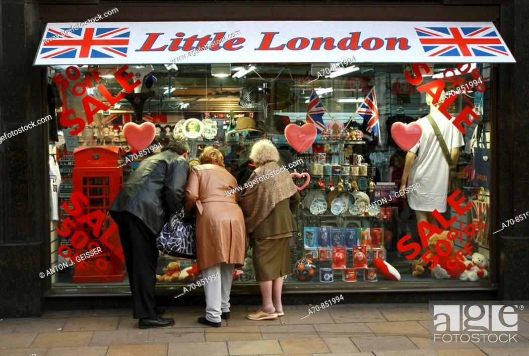 Stock Photo: Souvenirs. London. England.