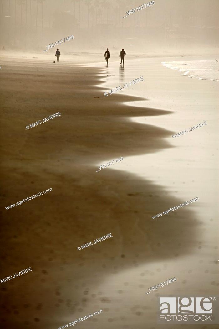 Stock Photo: La Jolla Beach.