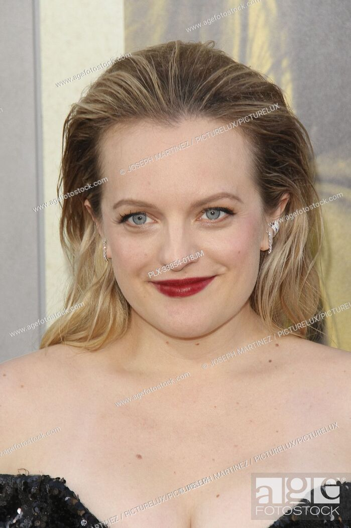 """Photo de stock: Elisabeth Moss at Warner Bros. Pictures' """"""""The Kitchen"""""""" Premiere held at the TCL Chinese Theatre, Los Angeles, CA, August 5, 2019."""