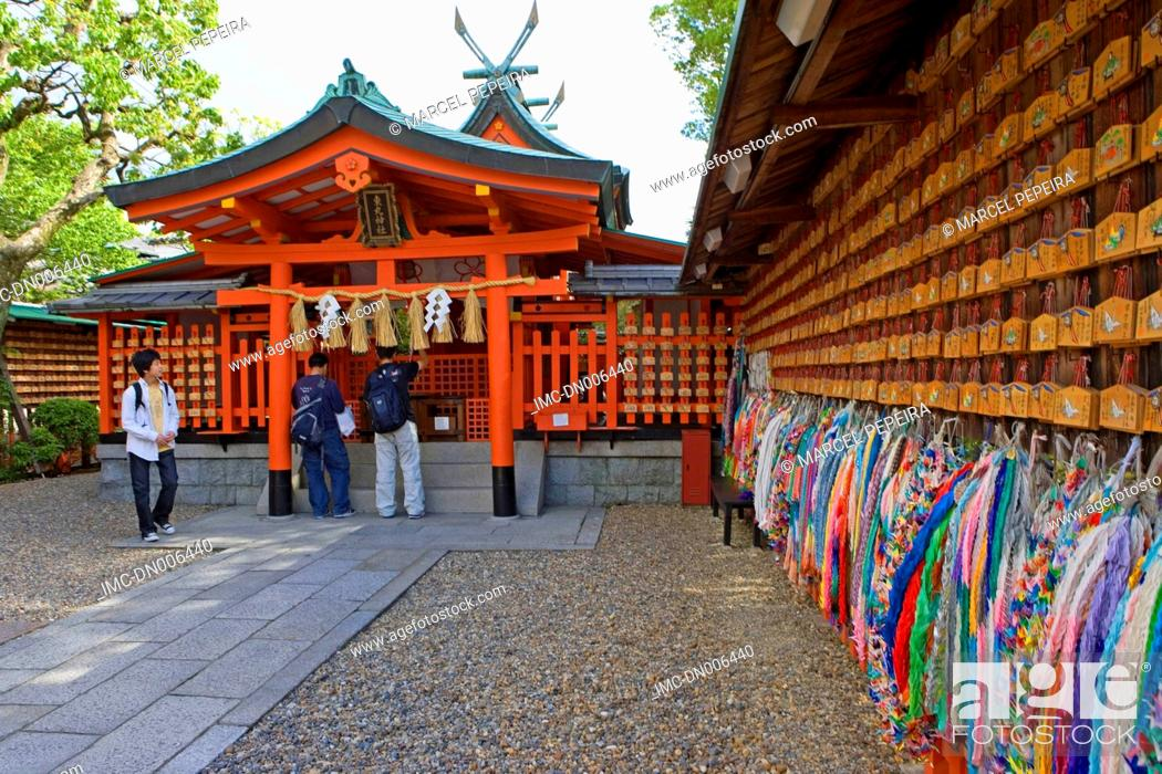 Stock Photo: Japan, Kyoto, Fumishi Inari temple.