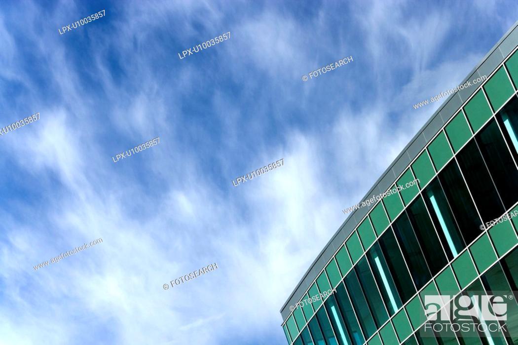 Stock Photo: Business Park.