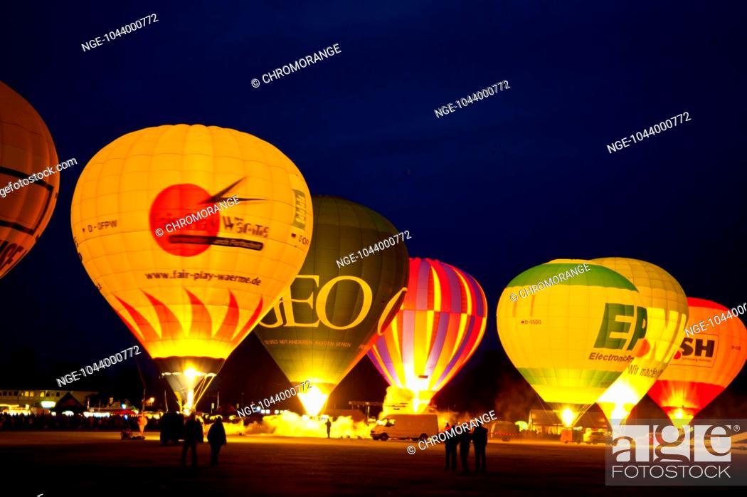 balloon sail kiel night glow