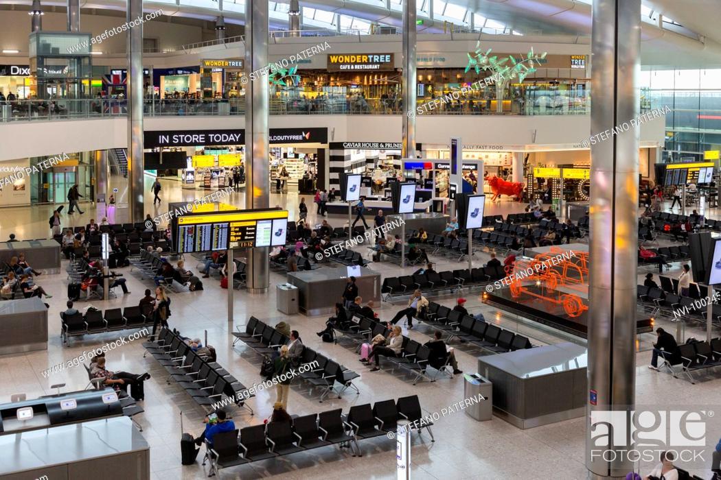 Imagen: Airport Lounge, Heathrow Airport, London, United Kingdom.