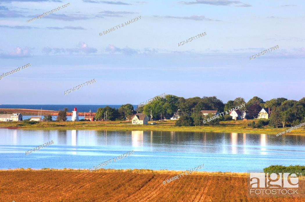Stock Photo: Victoria, Prince Edward Island, Canada.