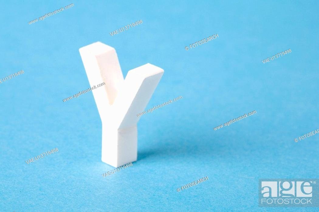Stock Photo: Letter Y.