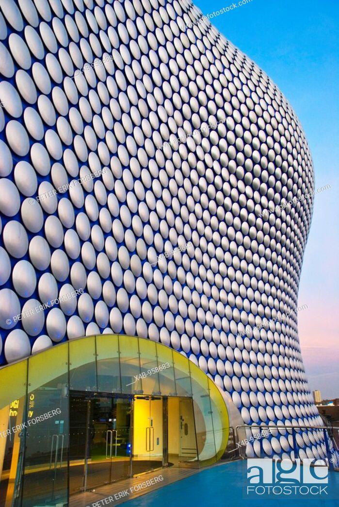 Stock Photo: Selfridges exterior Bullring shopping centre Birmingham England UK Europe.