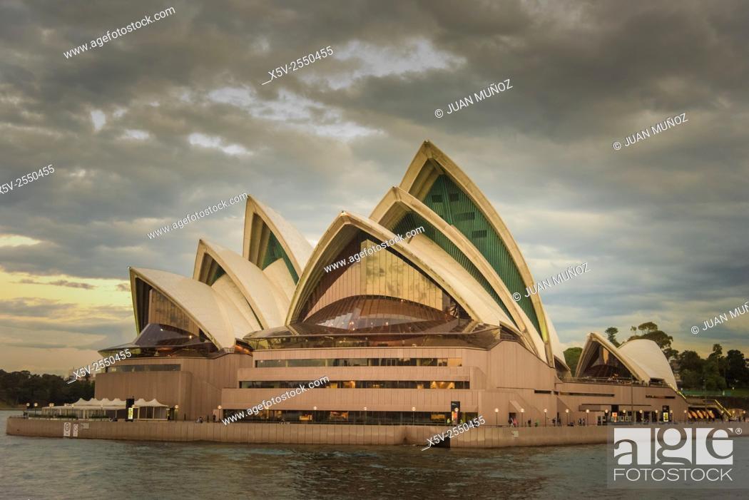 Stock Photo: Sydney Opera House. Australia. Oceania.