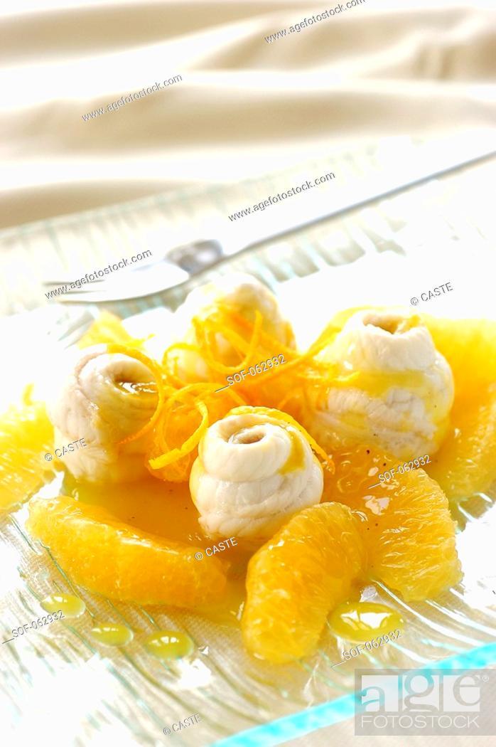 Stock Photo: orange sole.