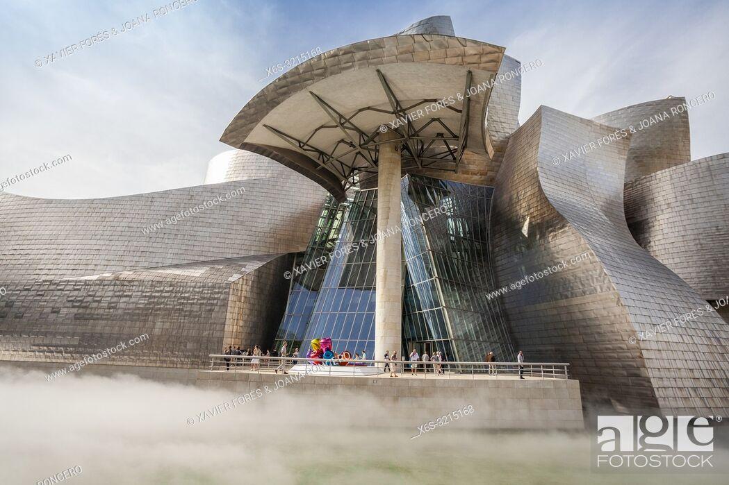 Imagen: Guggenheim Museum, Bilbao, Spain.