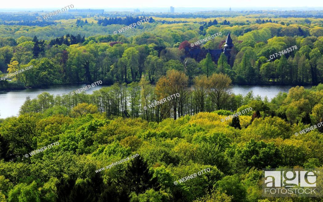 Imagen: Germany, Nettetal, Maas-Schwalm-Nette Nature Park, Schwalm-Nette Nature Park, Lower Rhine, Rhineland, North Rhine-Westphalia, NRW, Nettetal-Hinsbeck.
