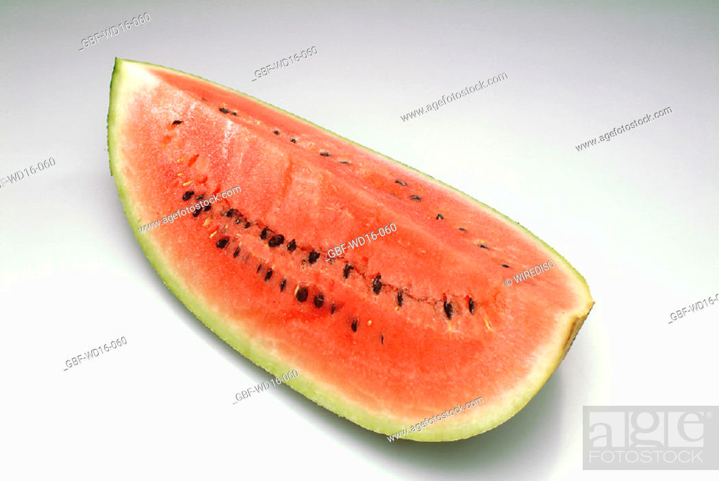 Stock Photo: Food, fruit, watermelon.