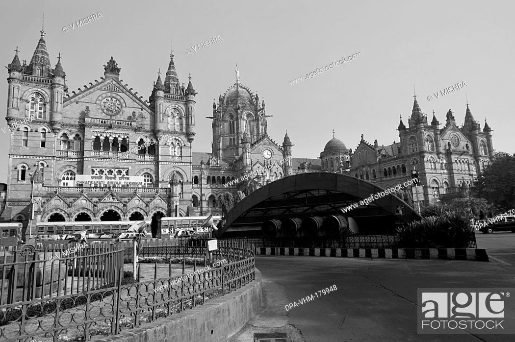 Chhatrapati Shivaji Terminus Railway station Mumbai