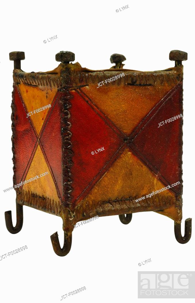 Stock Photo: World symbols: Leather lamp Morocco.