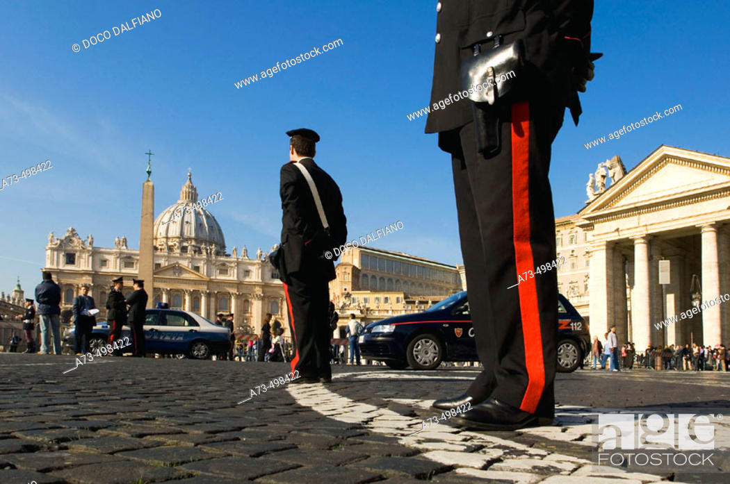 Stock Photo: St. Peter's Square, Rome. Lazio, Italy.