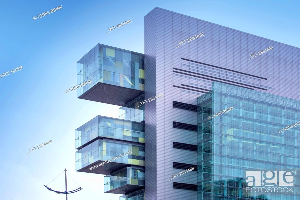 Stock Photo: Civic Justice Centre in Manchester UK.