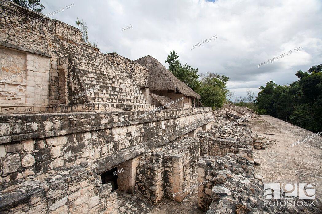 Stock Photo: Ek Balam ruins, Mexico.