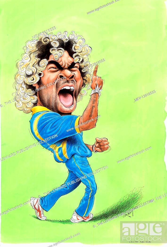 Lasith Malinga Sri Lanka Cricketer Stock Photo Picture And Rights Managed Image Pic Mev 12018555 Agefotostock