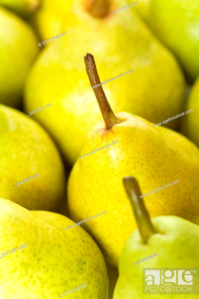 Stock Photo: Detail of pears.