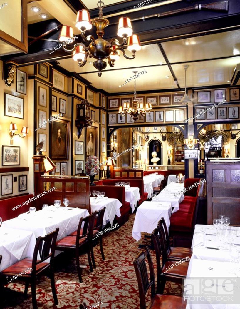 England London Covent Garden The Interior Of Victorian Era