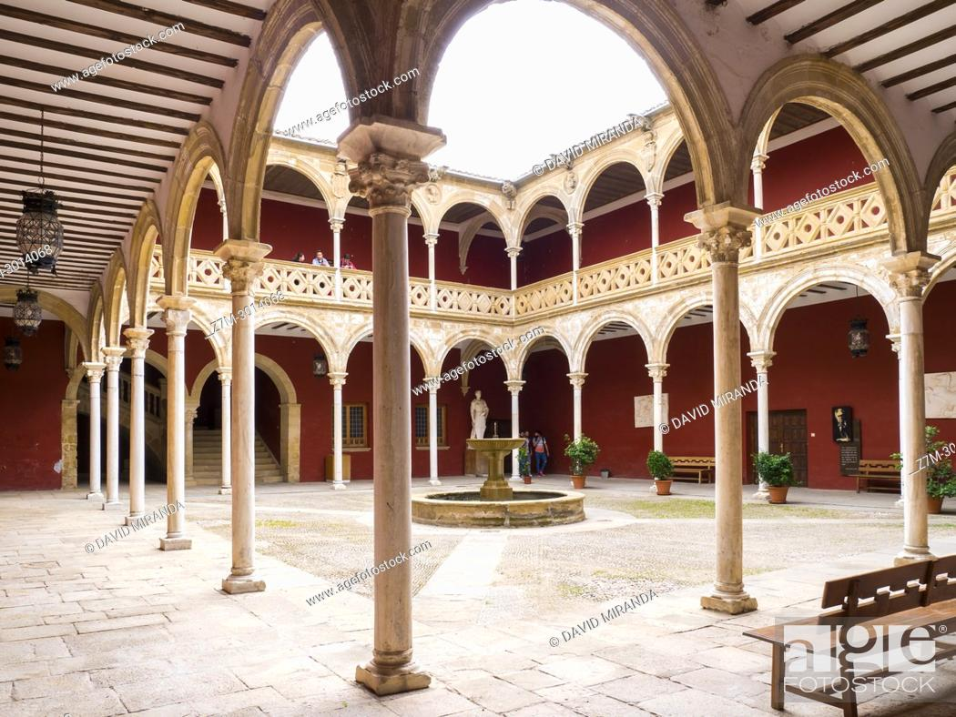 Courtyard Of Casa De Las Torres Ubeda Jaen Province Andalusia Spain Stock Photo Picture And Rights Managed Image Pic Z7m 3014068 Agefotostock