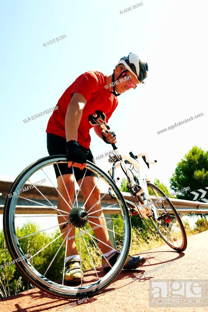 Stock Photo: Cycle Racing.