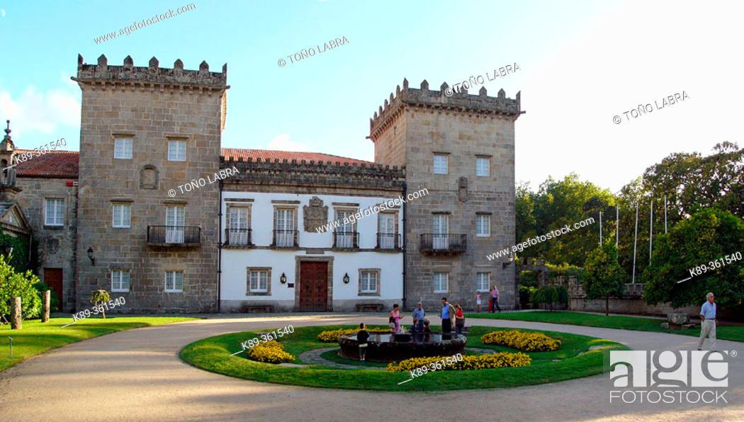 Quiñones De León Museum In Pazo De Castrelos Vigo Spain Stock Photo Picture And Rights Managed Image Pic K89 361540 Agefotostock