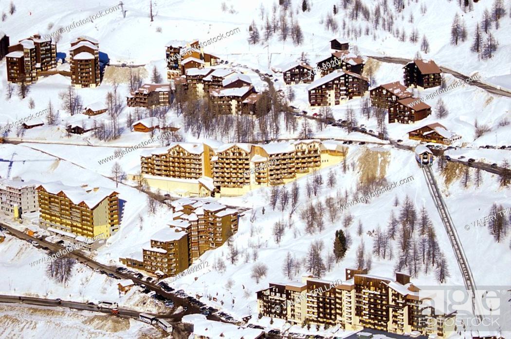 Stock Photo: Isola 2000 Alpes-MAritimes 06 PACA France Europe.