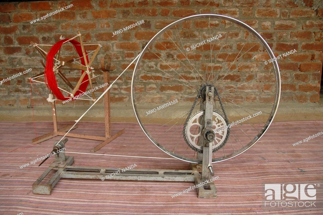 India: The charkha popularized by Mahatma Gandhi lives on in