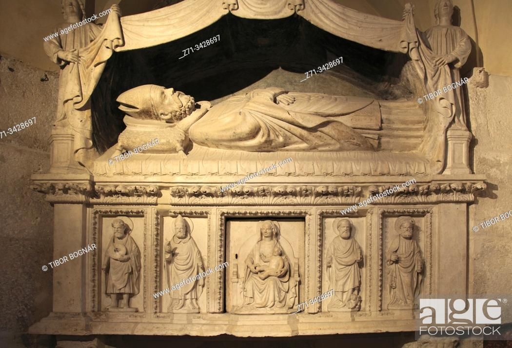 Stock Photo: Croatia, Split, Cathedral, interior.