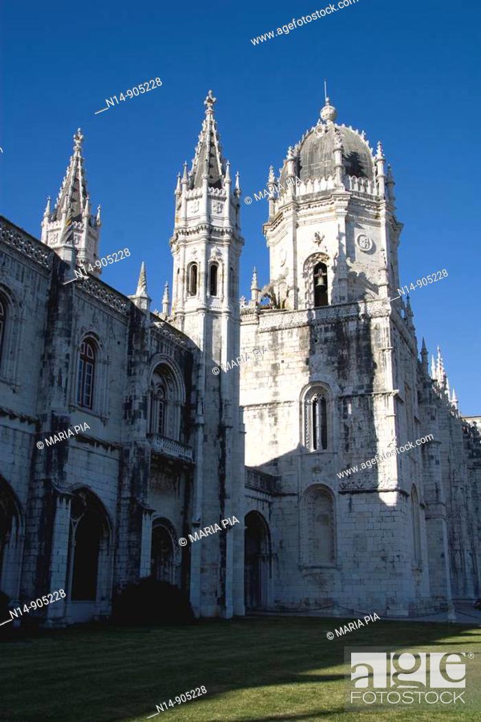 Stock Photo: Hieronymites Monastery, Belem, Lisbon, Portugal.