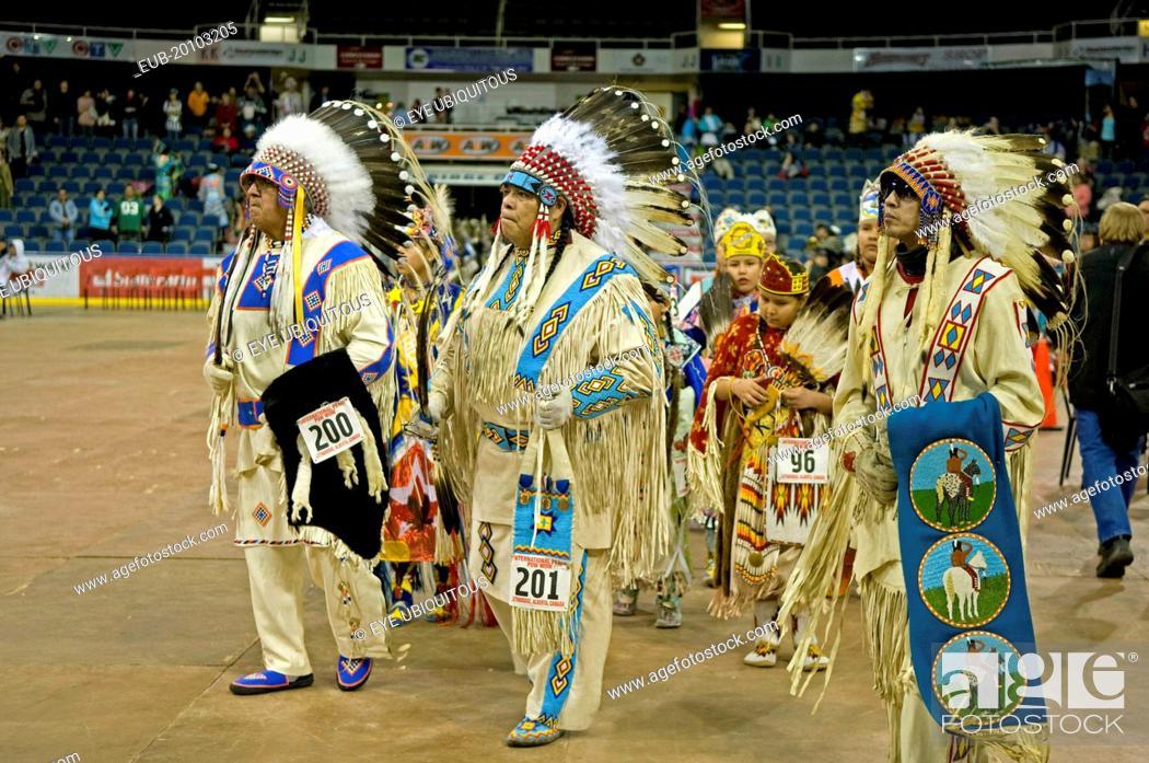 International Peace Pow Wow Grand Entry Blackfoot Indian