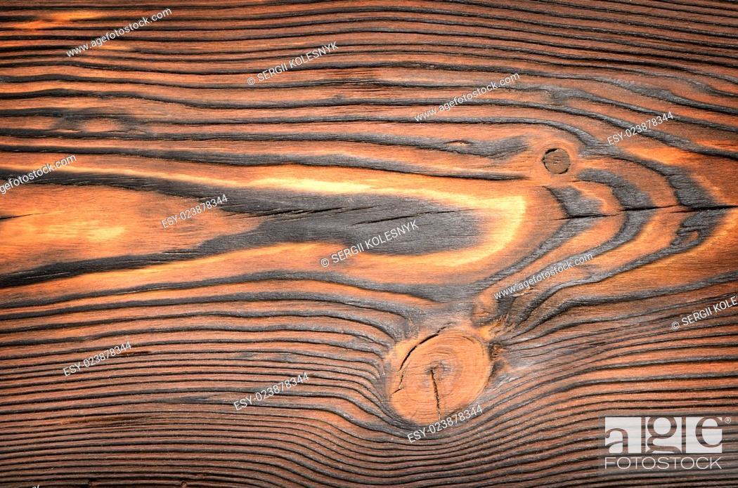 Stock Photo: Old, grunge wood panels used as background.