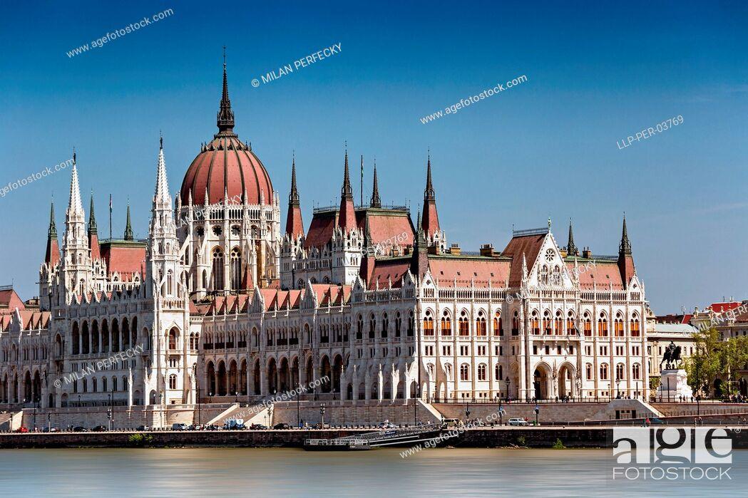 Stock Photo: Parliament, Budapest - Hungary.