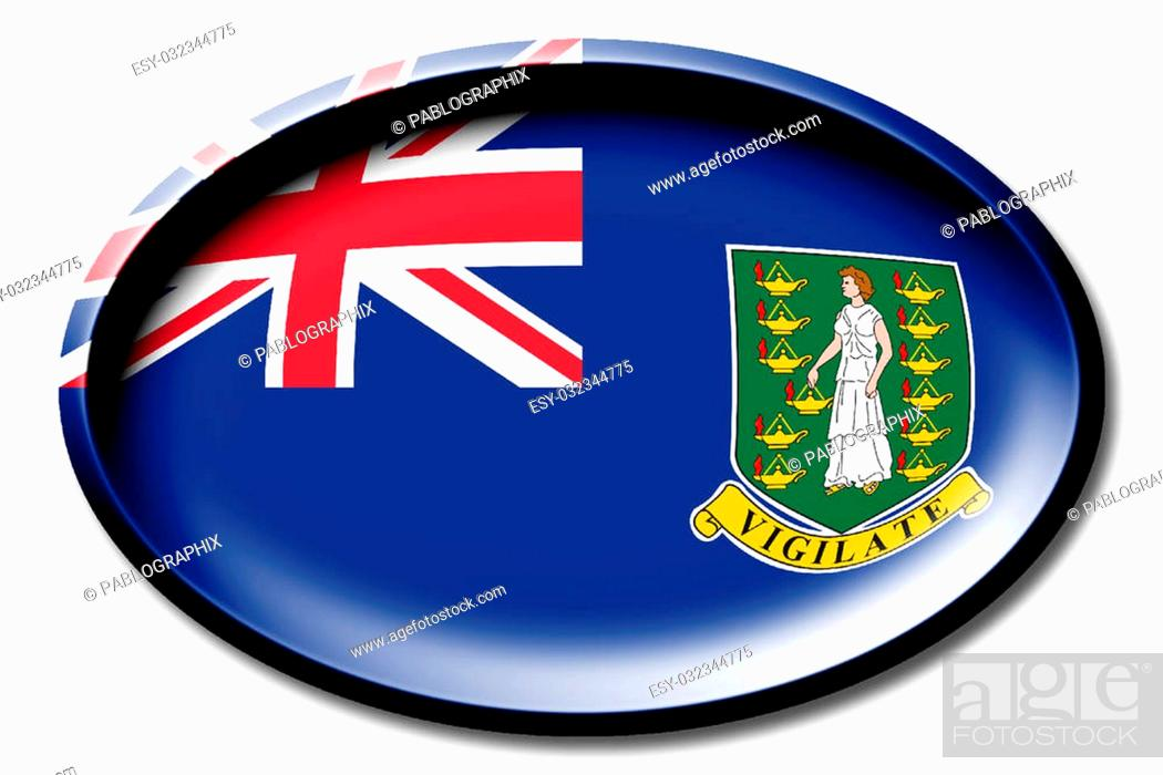 Stock Photo: Flag concept - great for topics like nationality, country, national symbols, identity, citizenship etc.