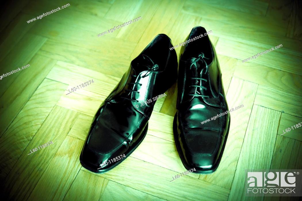 Stock Photo: shoes wedding.
