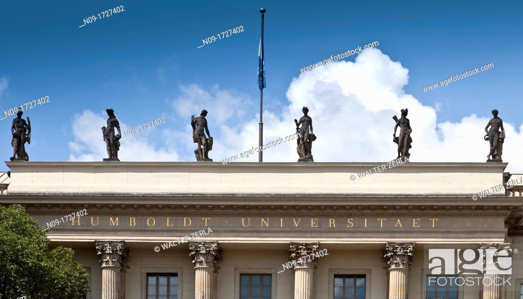 Stock Photo: Humboldt University, Berlin, Germany.