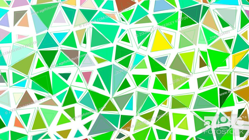 Abstract Green Grass Fresh Colorful Vector Gradient Lowploly Of Many Triangles Background For Use In Stock Photo Picture And Rights Managed Image Pic Zon 9234489 Agefotostock