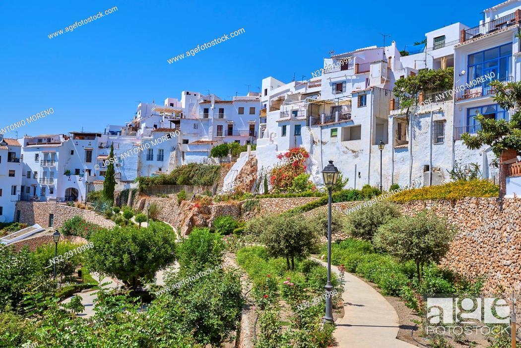 Imagen: Frigiliana, Axarquia, Costa del Sol, Malaga province, Andalusia, Spain.