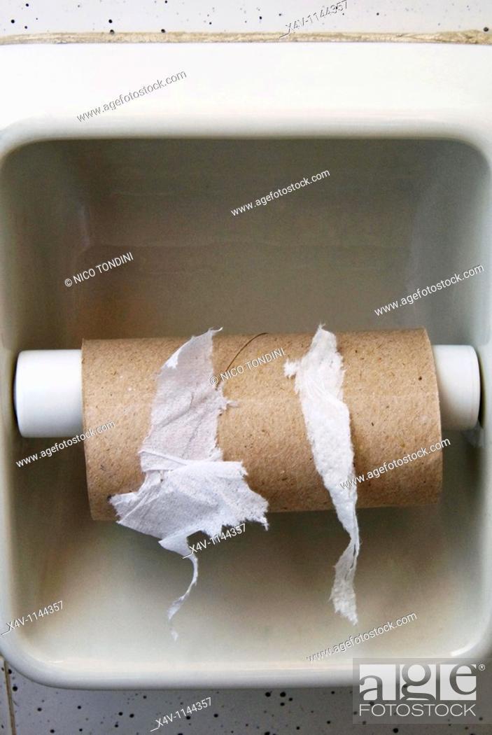 Stock Photo: Hygienic paper, Toilet paper.