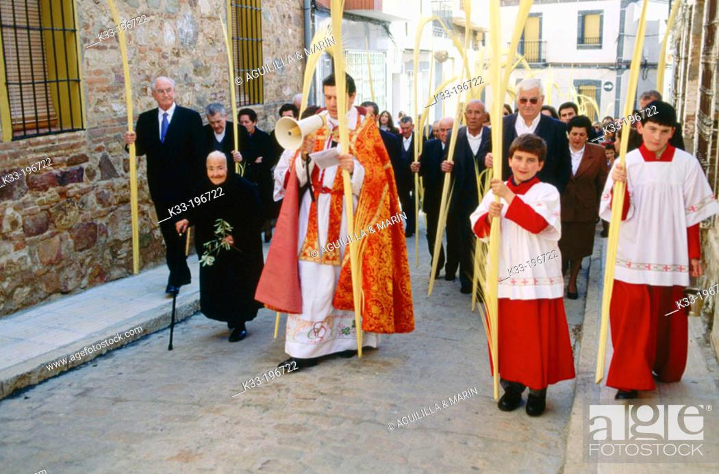 Stock Photo: Holy Week. Peñalsordo. Badajoz province. Spain.