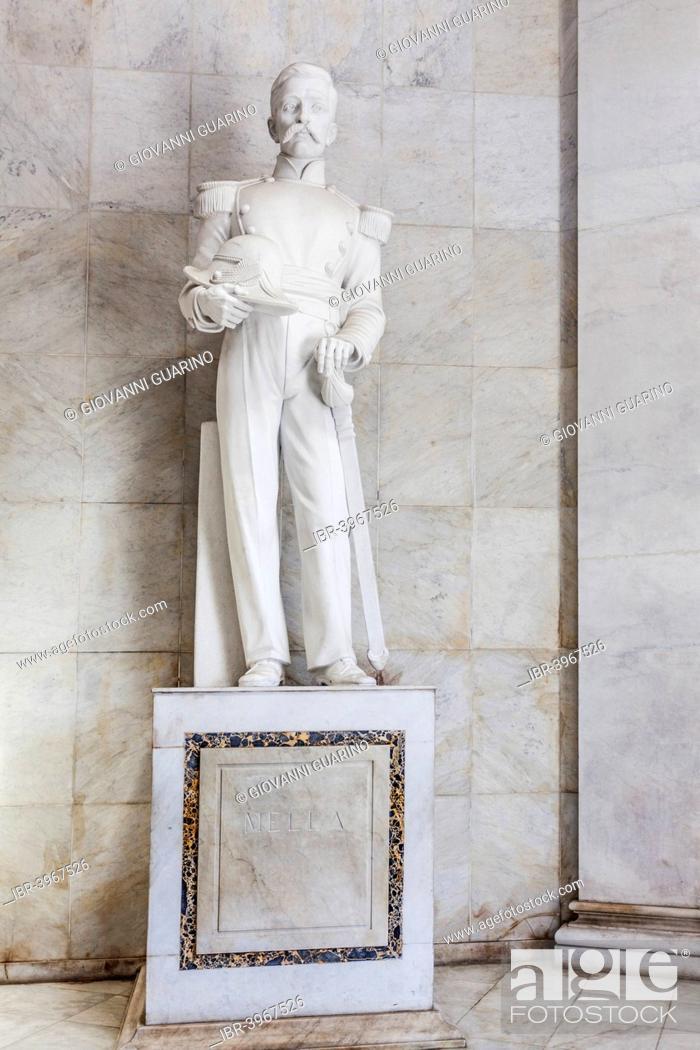 Stock Photo: Matías Ramón Mella, Los Trinitarios, sculptor Nicholas Arrighini, Altar de la Patria, Parque de la Independencia, Puerta del Conde, Zona Colonial.