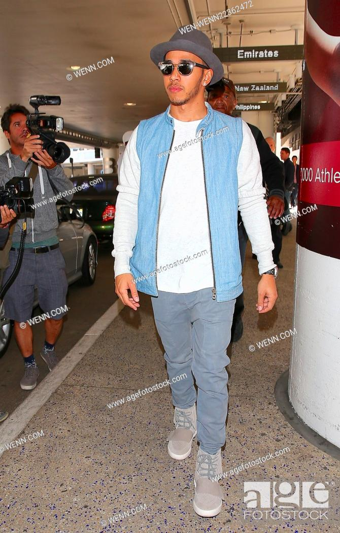low priced bc333 f9fef Lewis Hamilton, wearing a pair of Kanye West x Adidas Yeezy ...
