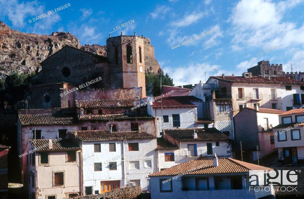 Stock Photo: Alpuente. Los Serranos. Valencia. Spain.