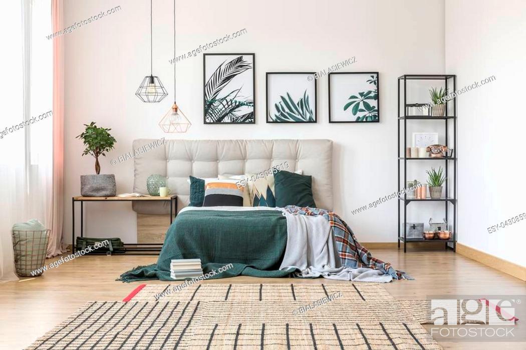 Asymmetrical Carpet And Botanical
