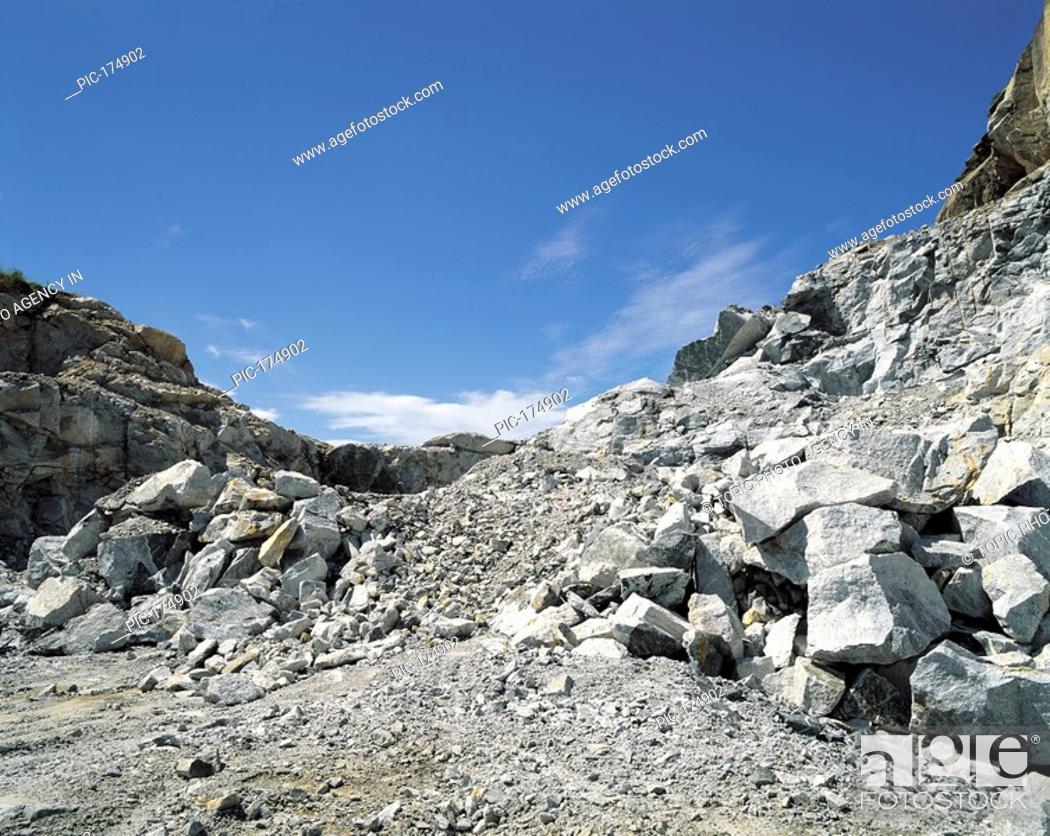 Stock Photo: Quarry,Incheon,Korea.