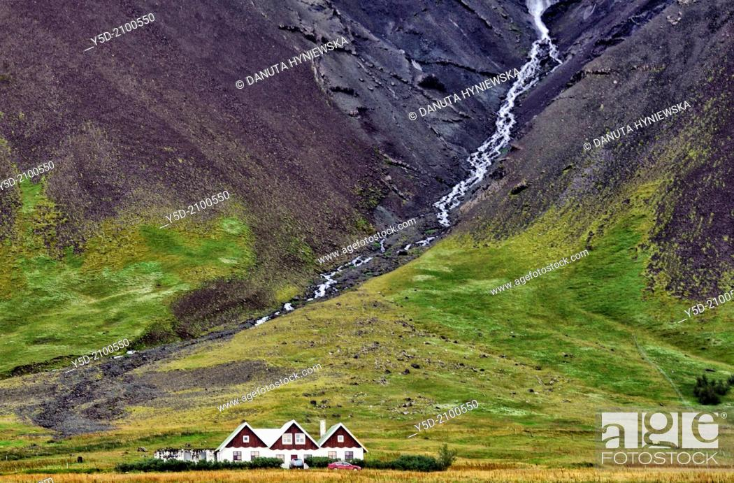 Stock Photo: living in Iceland.