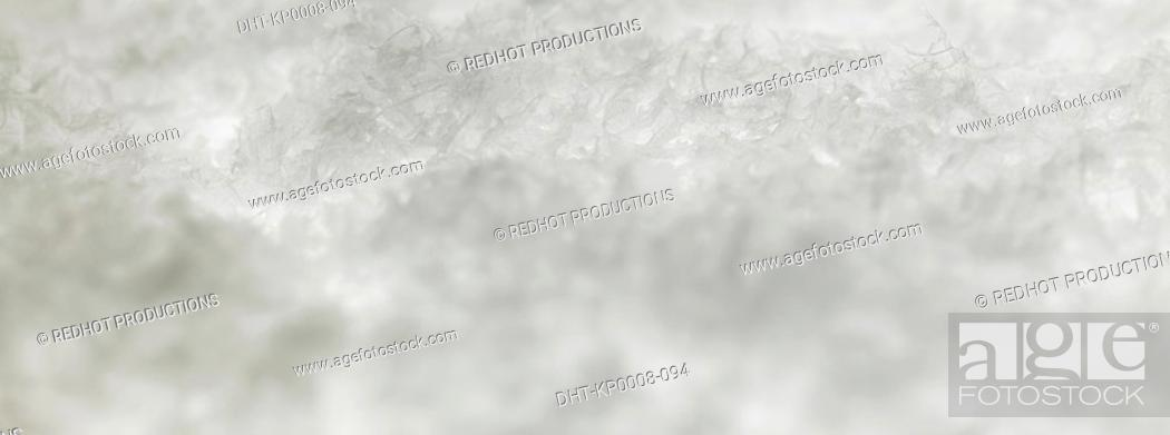 Stock Photo: Snow close up.