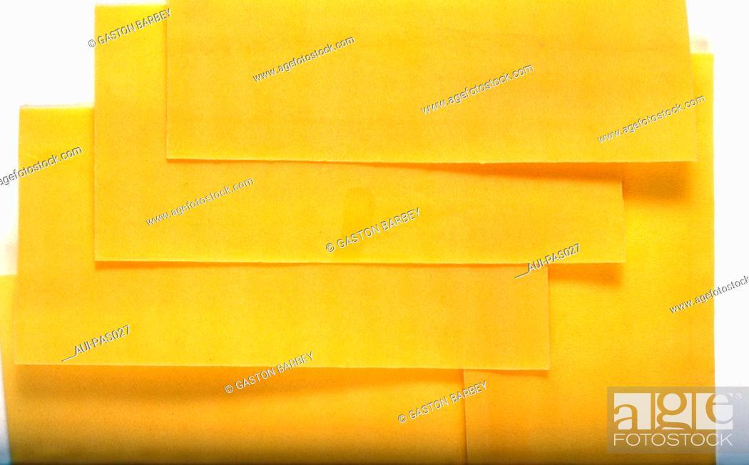 Stock Photo: Pasta - Lasagnes Pasta.