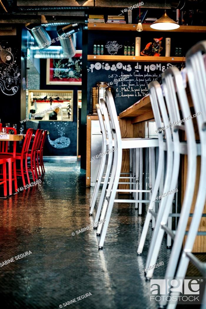 Stock Photo: Kuzina. The greedy street. Bordeaux. Gironde. Aquitaine. France. Europe.